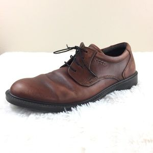 Ecco Brown Oxford Lace Up Shoes 8